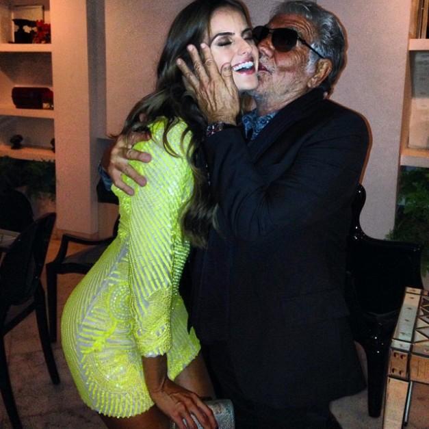 Izabel Goulart Birthday Kiss