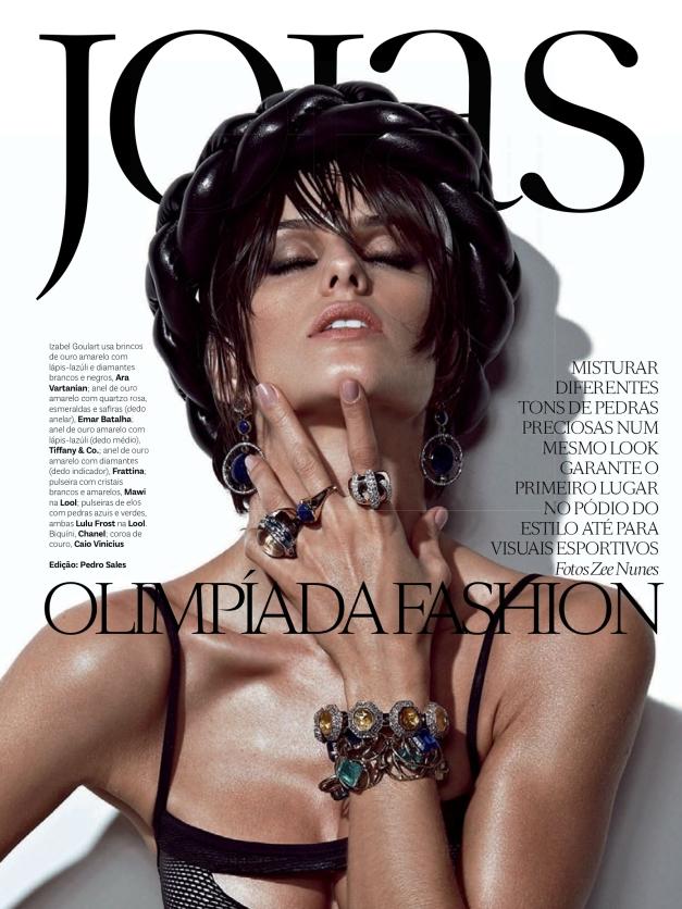 Izabel Goulart Vogue Brazil 2013