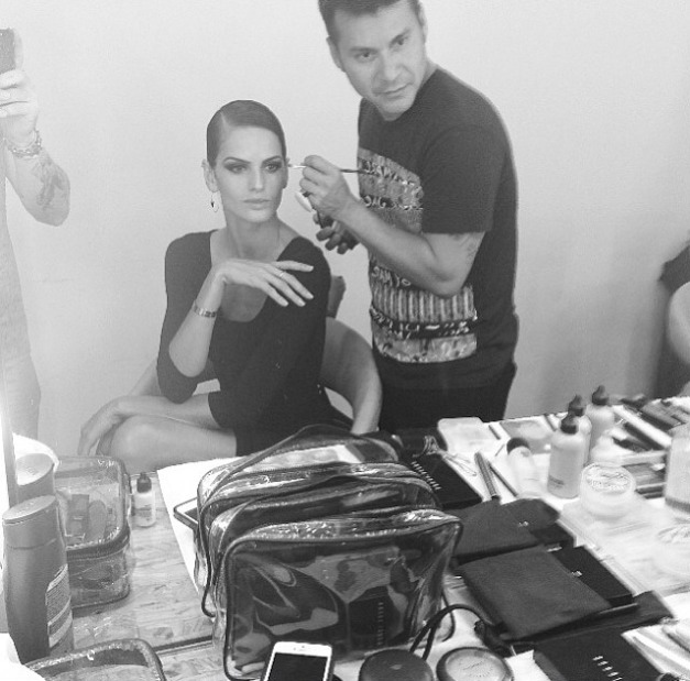 Izabel Goulart With the Vogue Family