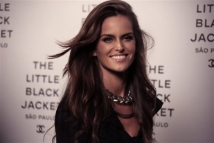 Izabel Goulart Little Black Jacket