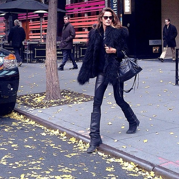 Izabel Goulart Fall Street Style