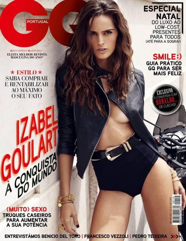 Izabel Goulart GQ Portugal