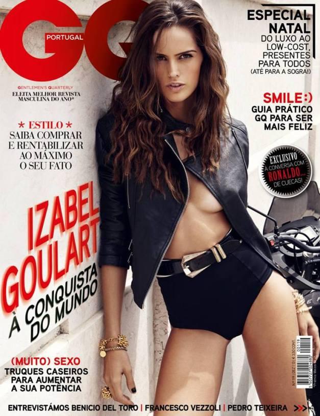 Izabel Goulart GQ Portugal