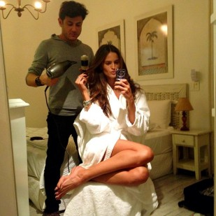 Izabel Goulart Getting Ready