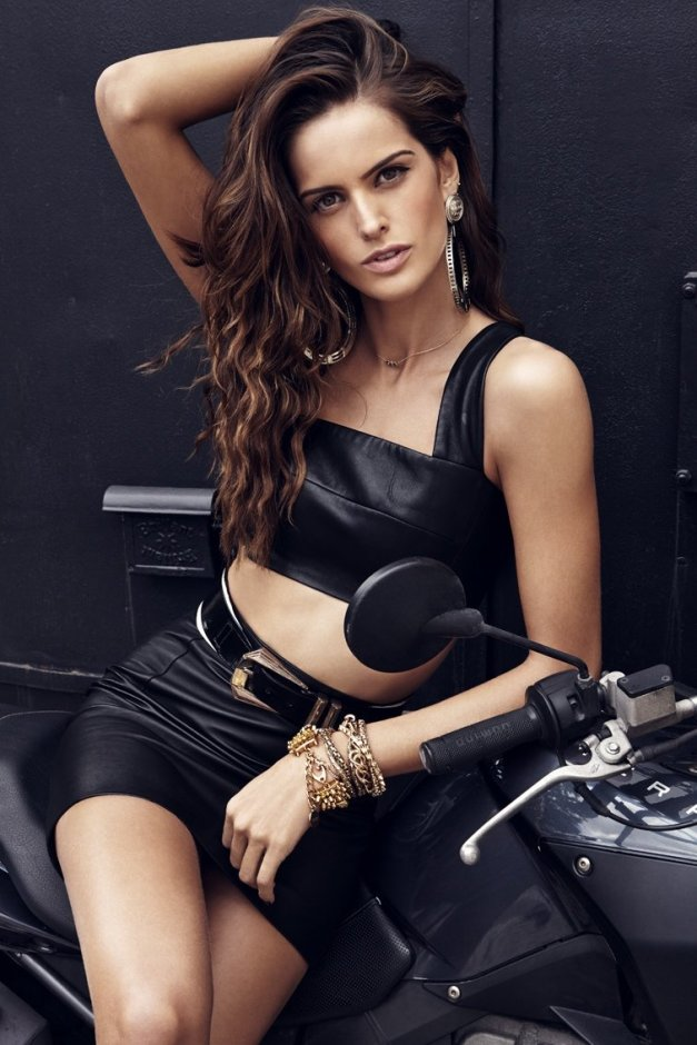 Izabel Goulart GQ Portugal December 2013