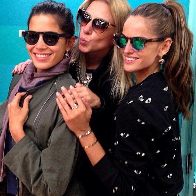 Izabel Goulart Fun Afternoon with the Girls