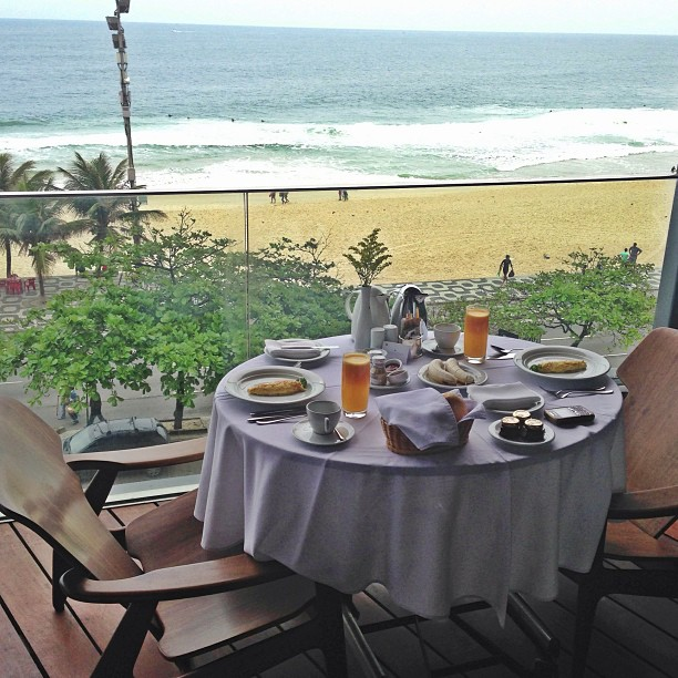 Izabel Goulart Ocean View Breakfast