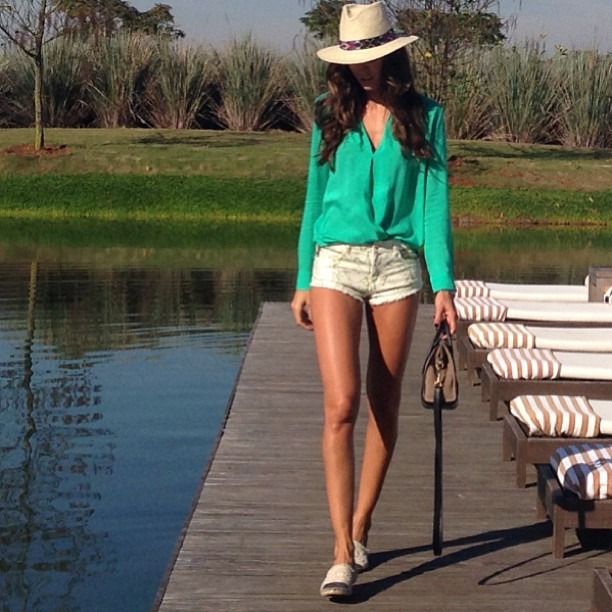 Izabel Goulart A Day in the Country