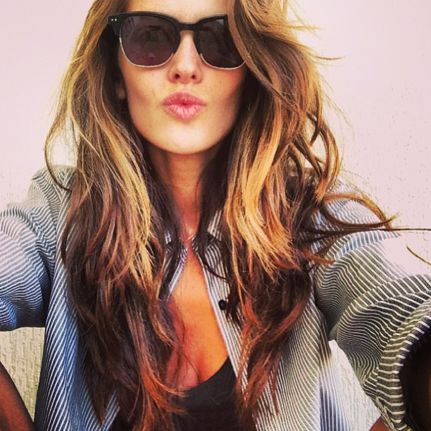 Izabel Goulart Just Out Of Bed
