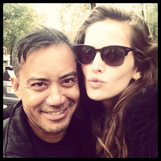 Izabel Goulart Lunch with Jerome