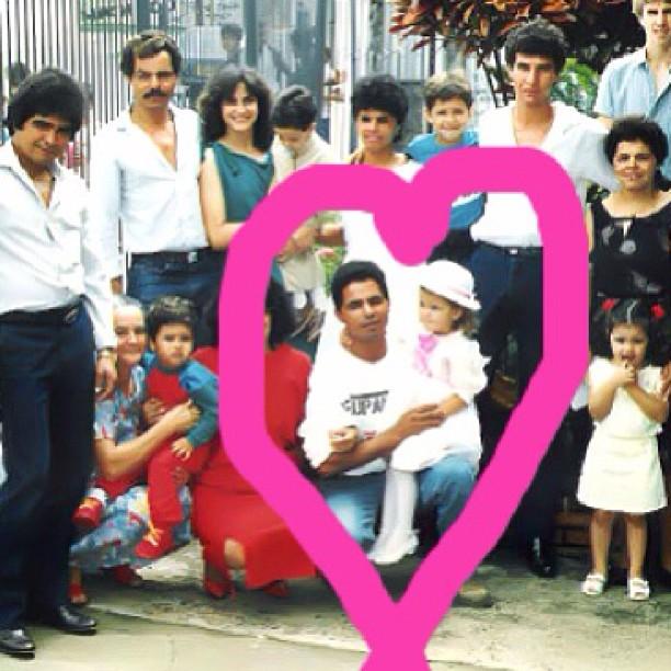 Izabel Goulart Happy Fathers' Day