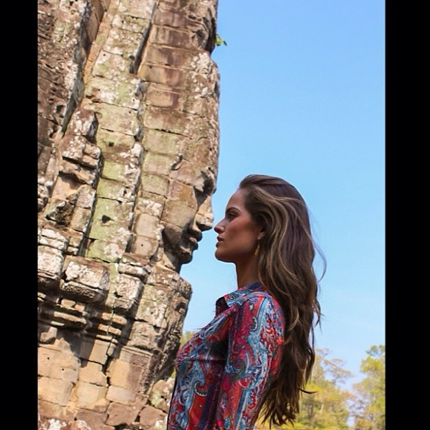 Izabel Goulart Last Day in Cambodia