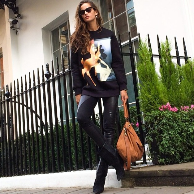 Izabel Goulart Bye Bye London