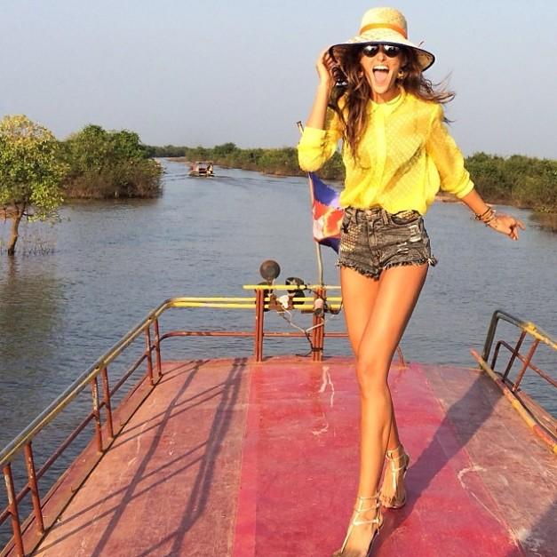 Izabel Goulart Hello Cambodia